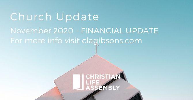 November Financial Update image