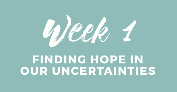 Finding HOPE In Our Uncertainties