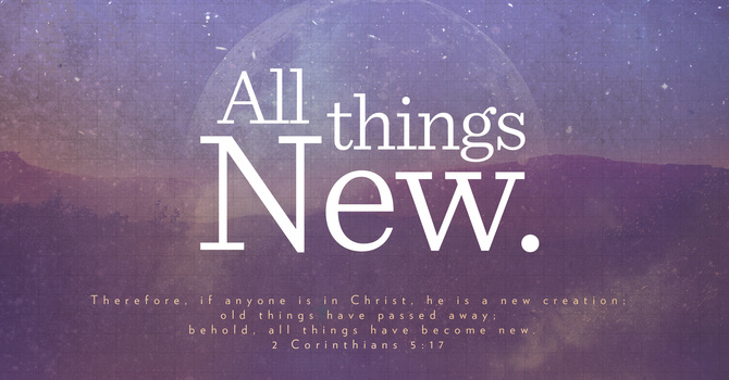 All Things New | Happy New Year image