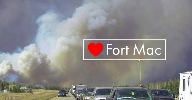 Love Fort Mac relief fund image