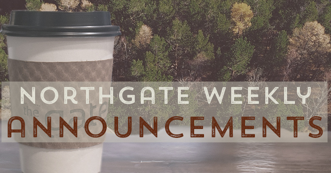 Weekly Annoucements image