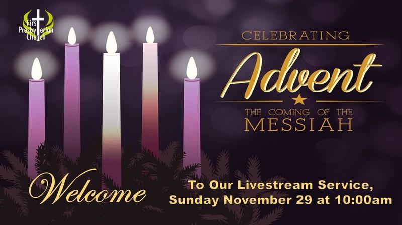 Sunday November 29 Livestream Service