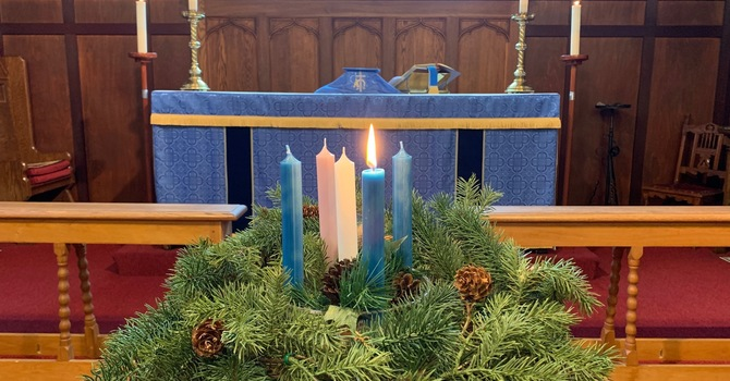 ADVENT Sunday Service/Bulletin