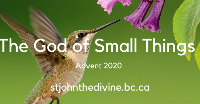 God of Small Things - Day One - Advent Sunday (Advent I) image