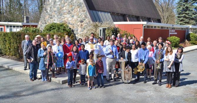 Easter at St. Anselm's image