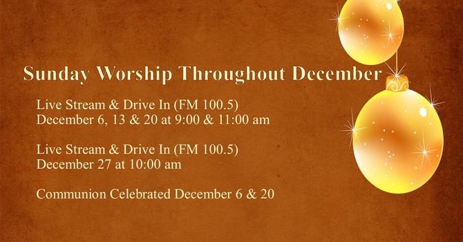 December Sunday Worship