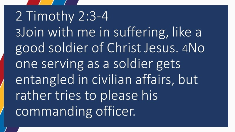 Soldiering for Jesus