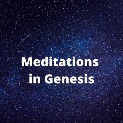 Meditations in Genesis