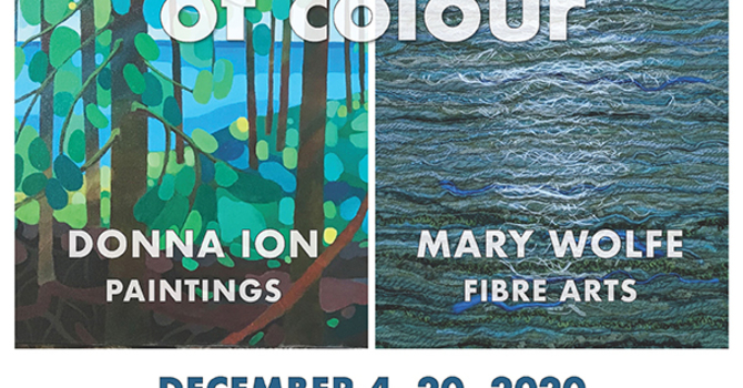 Good news ... Persuasions of Colour opens Friday, December 4th at noon! image