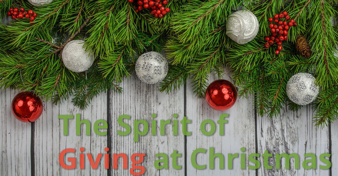 The Spirit of Giving at Christmas