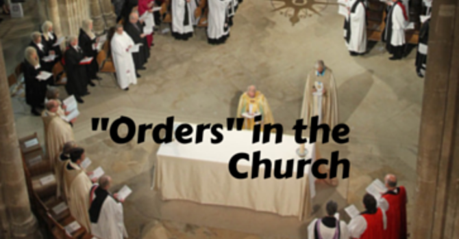 """Orders"" in the Church image"