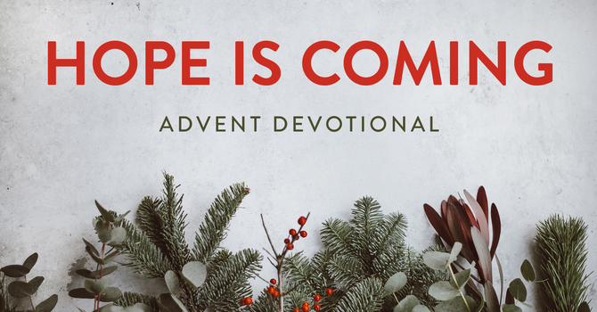 Hope is Coming- An Advent Devotional