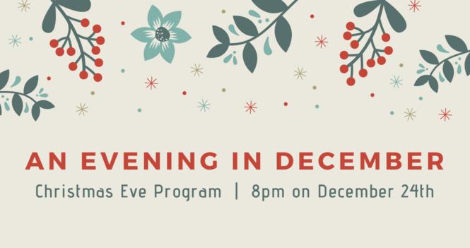 平安夜慶祝活動 An Evening in December