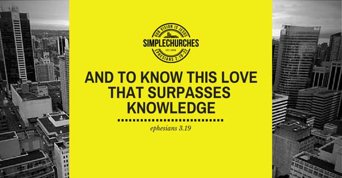 A Love that Surpasses Knowledge image