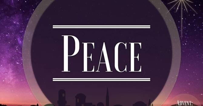 Advent Sunday 2 Peace
