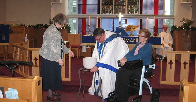 Two Dedications For Years Of Wonderful Ministery image