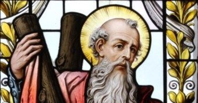 Feast of St. Andrew the Apostle image