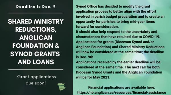 Diocesan financial news