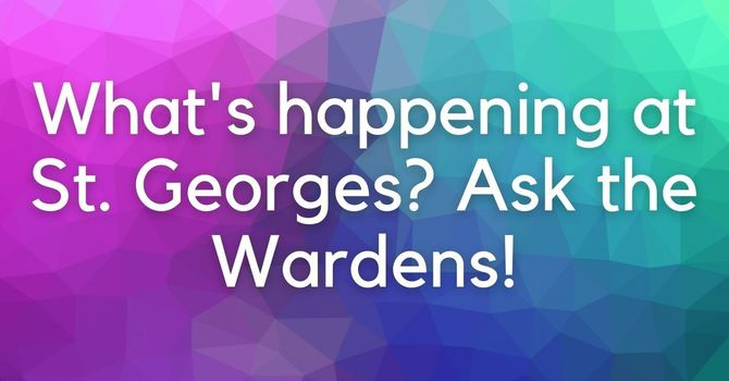 What's happening? Ask the Wardens!