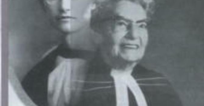 庆祝尊敬的牧师Lydia Gruchy  博士(1894-1992)