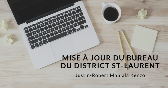 Mise à jour du bureau du district St-Laurent image