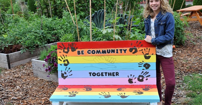 The BELONGING BENCH  image