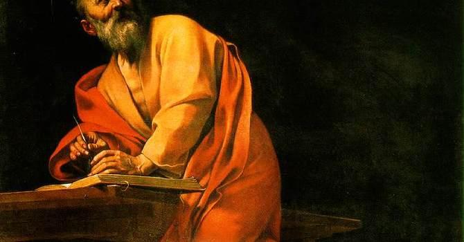 St. Matthew, Apostle & Evangelist image