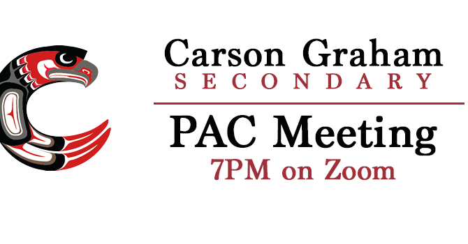 Carson Graham PAC General Meetings