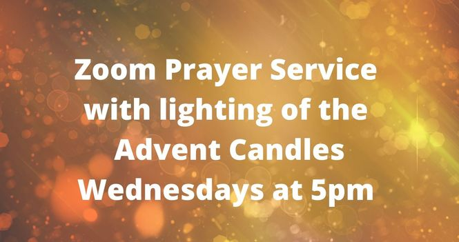 Online service - Lighting of Advent Candles