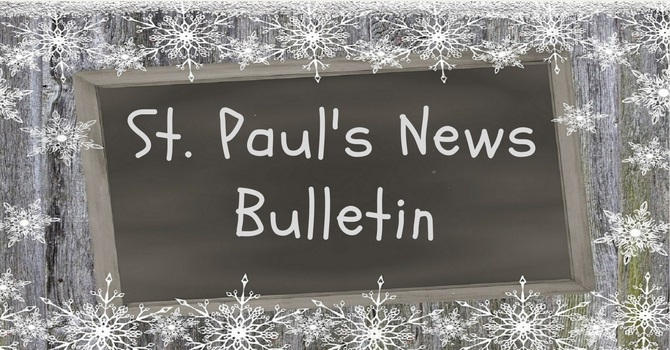 St. Paul's February 10th  News Bulletin image