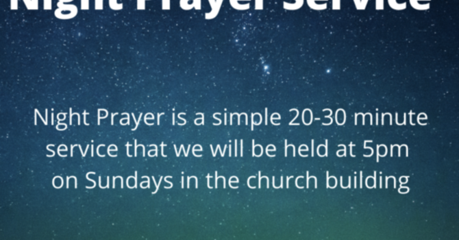 Night Prayer Services image