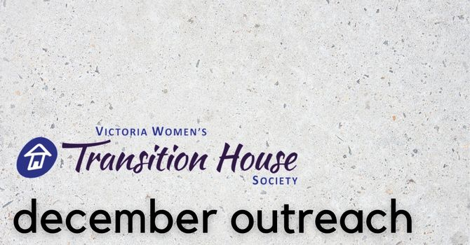 December Outreach: Victoria Women's Transition House Society image