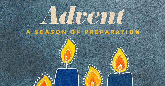 Advent Candle Lighting, Week 1