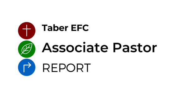 Associate Pastor Report