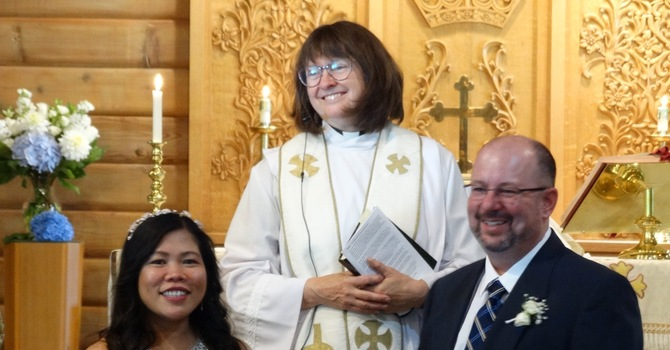 Wedding a highlight of morning service image