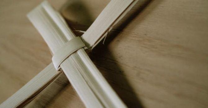 How To Make a Palm Cross image