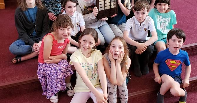 JB Children's Chorus wins another award image