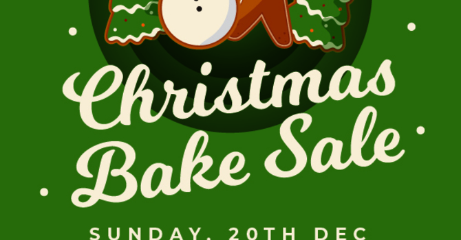 Christmas Covid-Friendly Bake Sale at St. Mary's image