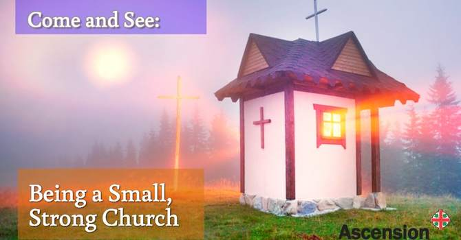 Come and See: Being a Small, Strong Church image