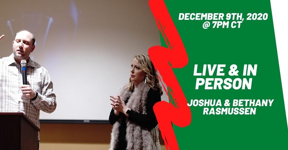 LIVE with Josh & Beth Rasmussen