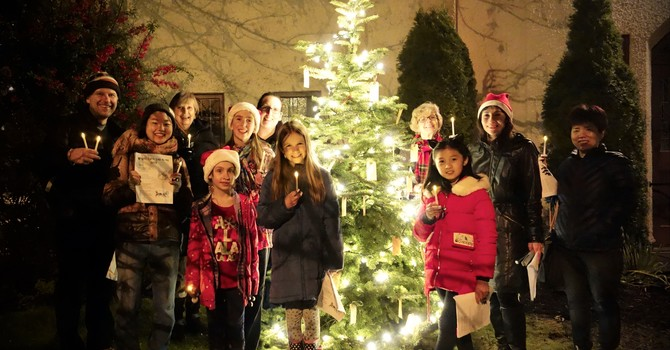Carolling in West Point Grey image