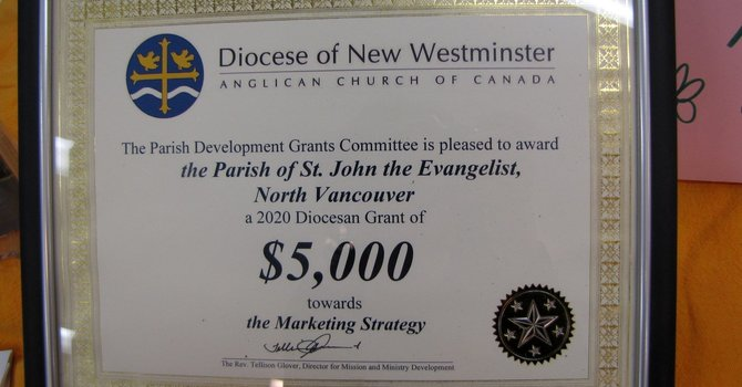 St John's Awarded Diocesan Grant image