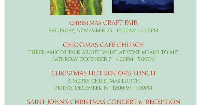 Advent and Christmas at a Glance image