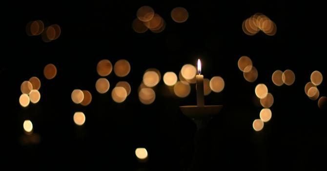 Candle Lighting For Christmas
