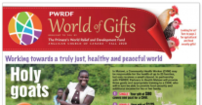 PWRDF World of Gifts image