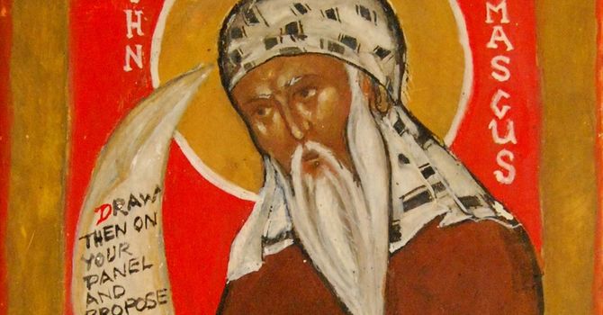 The Life of Our Holy Father, St. John of Damascus - Son of Antioch image
