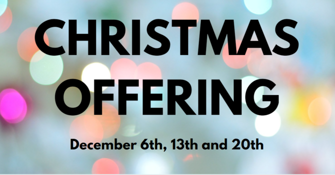 Christmas Offering image