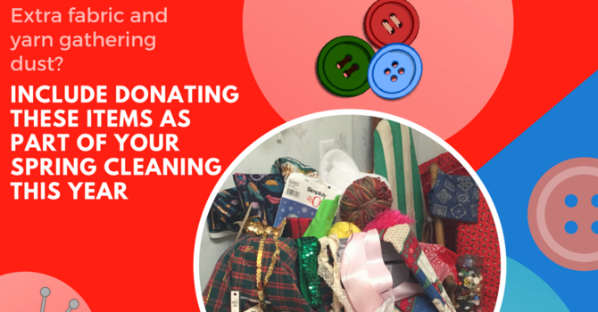 SPRING CLEAN - DONATE YOUR YARN! image