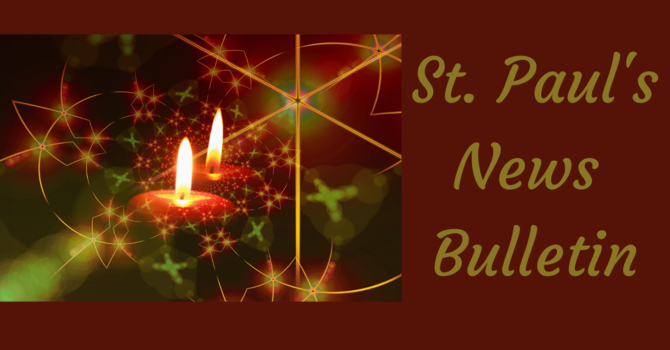 St. Paul's December 6th News Bulletin image