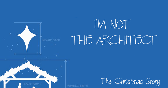 I'm Not the Architect